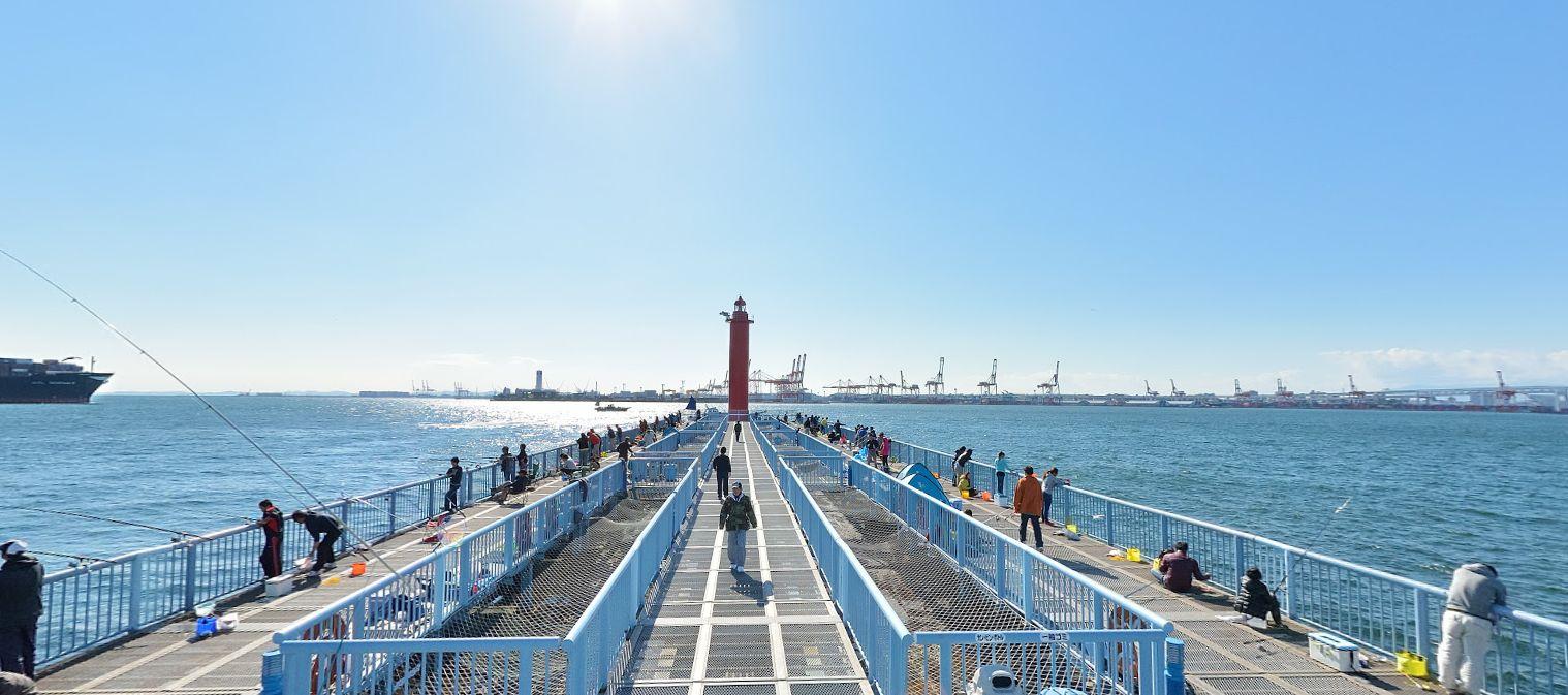 大黒 海 釣り 大黒海づり施設(だいこくうみづりしせつ)|海釣り公園.com